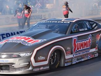 Team Summit occupies top half of the field at NHRA Winternationals