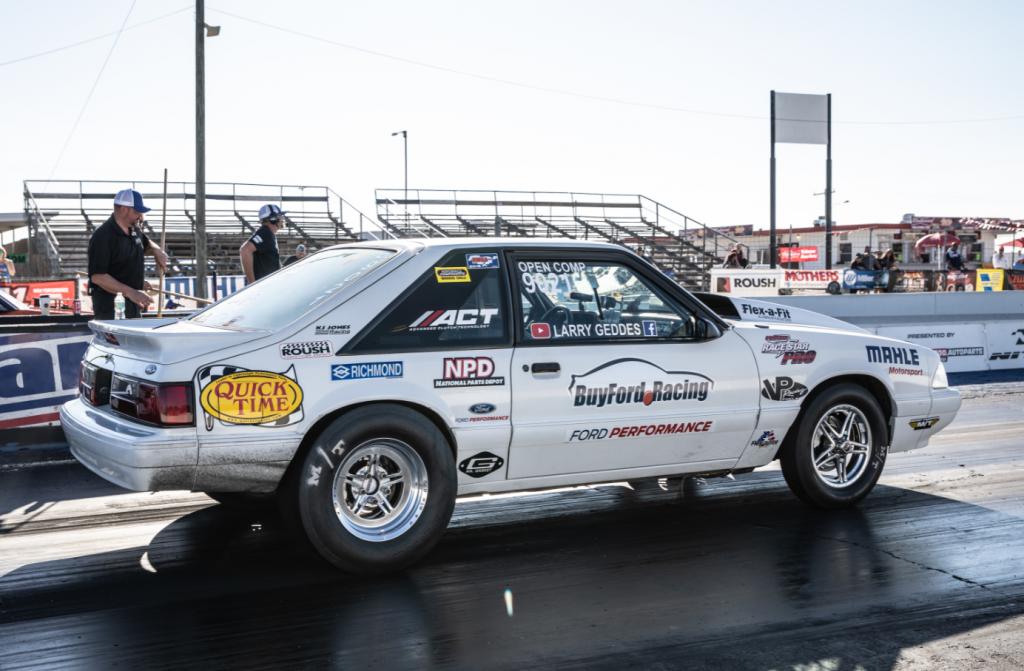Larry Geddes on Race Star Wheels