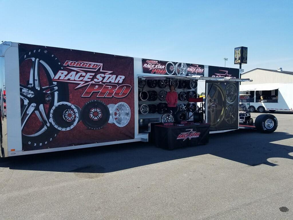 We're all setup here at the PDRA Racing #pdradragwars race at the GALOT Motorspo...