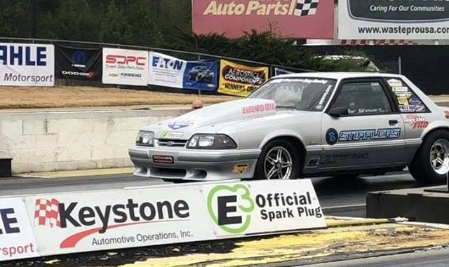 Clair Stewart II just sent a message to the rest of the NMRA Coyote Stock class ...