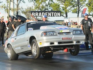 Clair Stewart Stepping It Up in NMRA G-Force Racing Coyote Stock