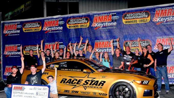Congratulations to Team Race Star racers Miles Wagoner for winning Super Stang a...