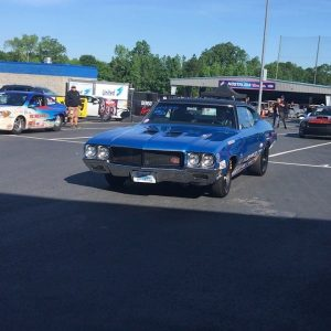 @jasonlineprostock rolling to the line in his #racestarequipped 1970 Buick Gran ...
