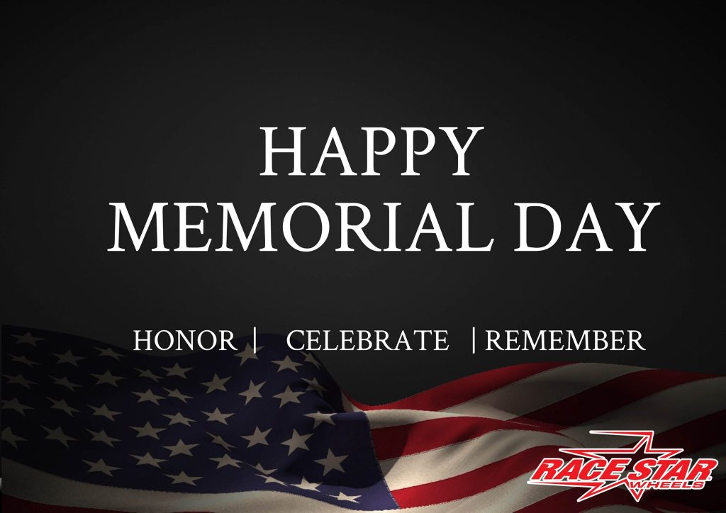 Happy Memorial Day from all of us here at Race Star Wheels. #memorialday #vetera...
