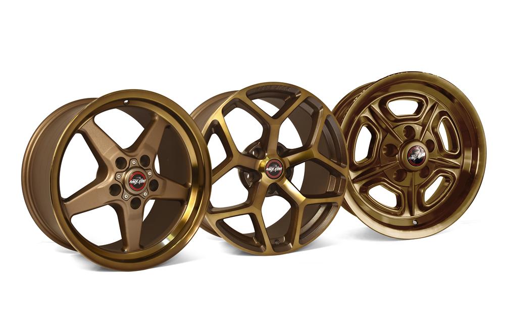 Race Star Wheels Bronze Finish