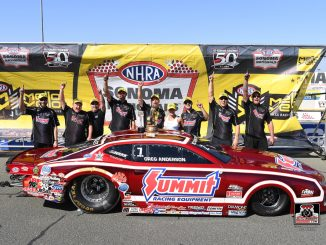 Two in a row for Greg Anderson and Team Summit with NHRA Sonoma win