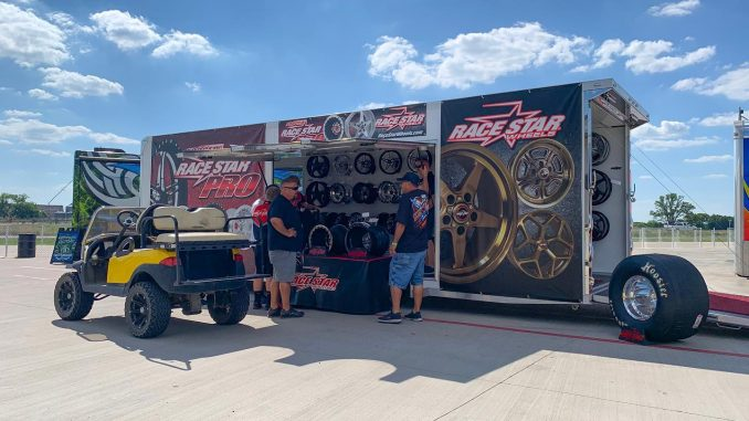 We're all set up here at @xtremeracewaypark for the @mwpms Ferris, TX race. Qual...