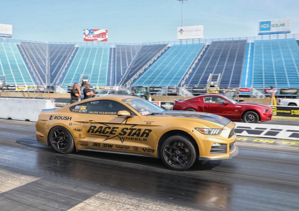 Miles Wagoner qualified in the #1 spot in Roush Super Stang and will be headed t...