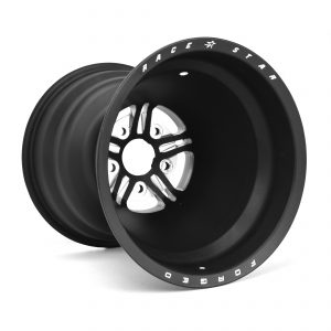 63 Pro Forged 16x16 Liner Wheel Black Anodized/Machined 5x5.00 BC 5.00BS