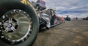 This is NHRA racer Chris Bishop's wicked Race Star Wheels equipped Super Comp ro...