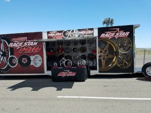 We're all set up here at the Drag Illustrated World Series of Pro Mod! #racestar...