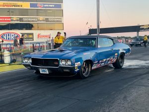 This is Jason Line's beautiful #racestarequipped  Buick at the NHRA US Nationals...