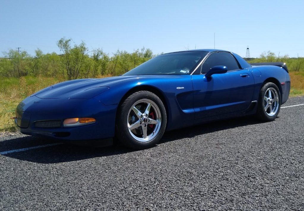 This is Ryan Foust's sweet C5 Z06 rolling on a set of freshly installed 92 Drag ...