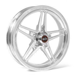 "63 Pro Forged 15x3.50 Lug Mount Polished 5x4.75 BC 2.55"" BS"