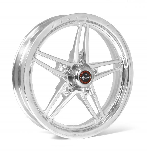 17x3.5 Lug Mount Polished 5x4.50 BC 2.00BS