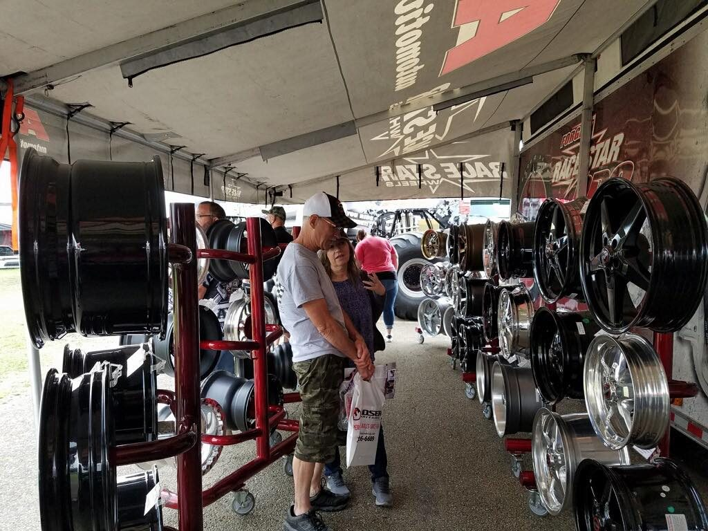 We're packed in the booth here at the NHRA US Nationals, Indy! We'll be wrapping...