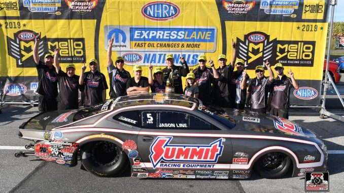 Big WIN for Jason Line this weekend in his #racestarequipped NHRA Pro Stock Cama...