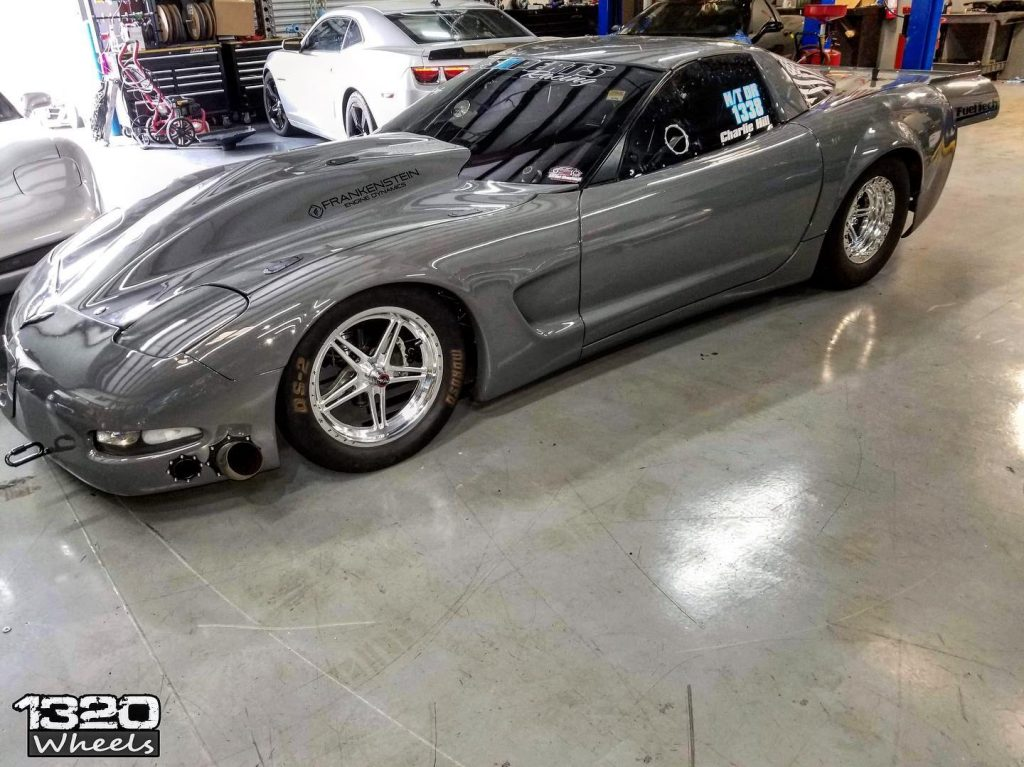 Check out Charlie Hill's Corvette on our new Pro Forged Wheels! Thanks 1320Wheel...