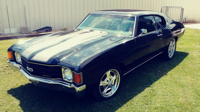 Check out Ryan Signorelli's beautiful Chevelle. The Race Star 32 Mirage wheels l...