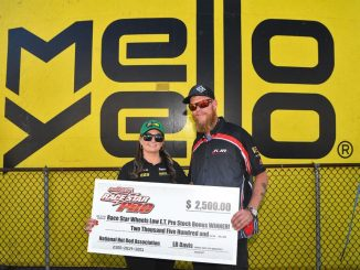 Congratulations to Erica Enders Racing for winning the Race Star Wheels Low E.T....