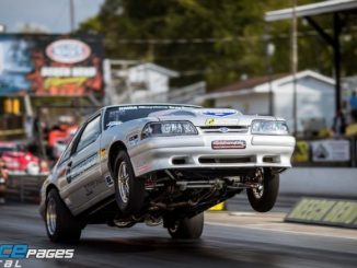 Stewart Wheelies His Way to G-Force Racing Coyote Stock Championship | NMRA