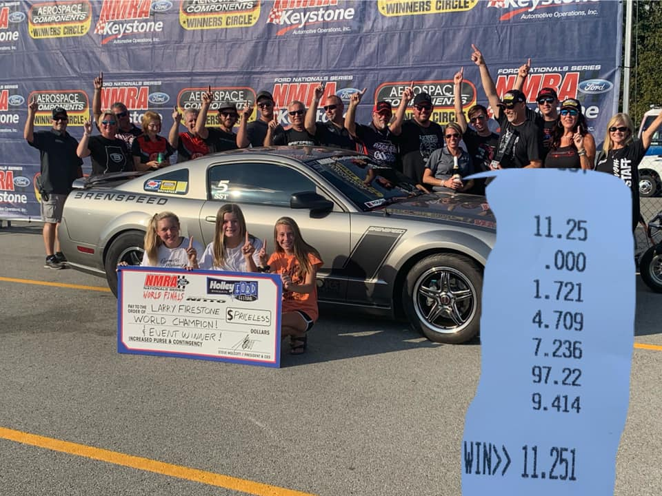 Congratulations Larry on your Championship win!! #racestarequipped #racestarwhee...
