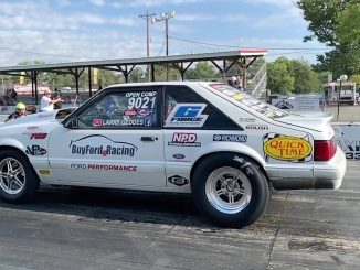 Check out Larry Geddes warming up the M/T slicks on his Race Star Pro Forged equ...