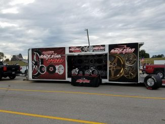 The Race Star Wheel display trailer is on the road this weekend at Bowling Green...