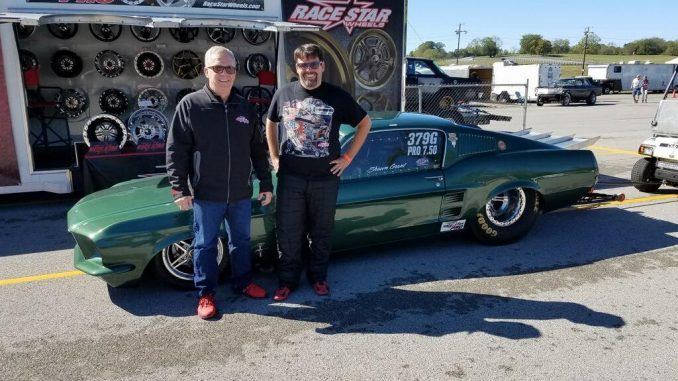 Shawn Grant brought out his beautiful Race Star Pro Forged equipped '67 Mustang ...