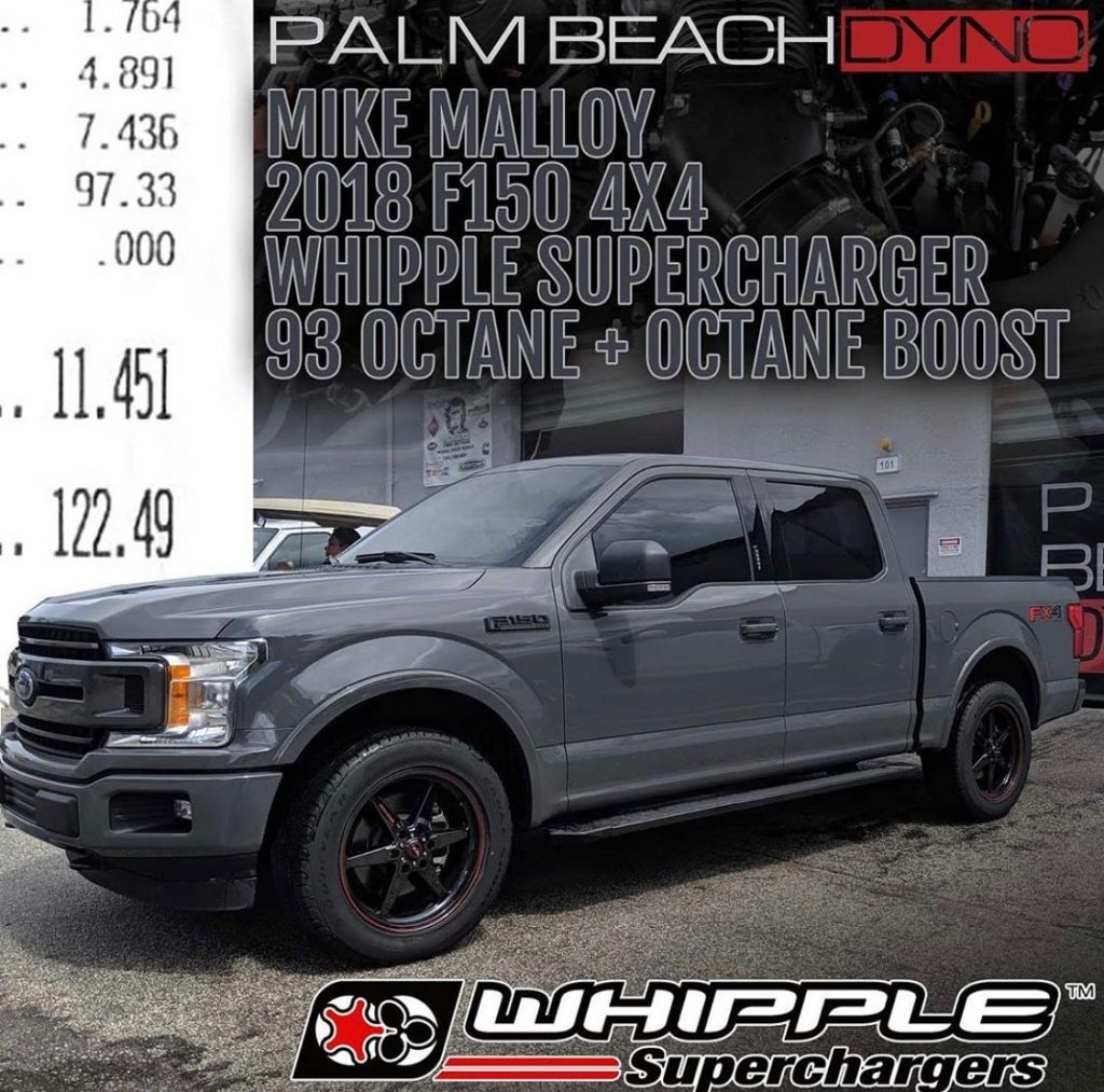 Palm Beach Dyno is just killing it with this Whipple Superchargers boosted, #rac...