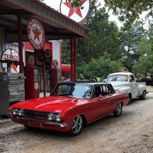 This beautiful #racestarequipped '62 Buick Skylark is owned by Bobby Jacobs from...