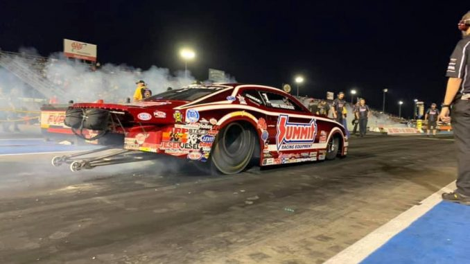 Greg Anderson heatin' up the hides on his Race Star Pro Forged Wheels equipped N...