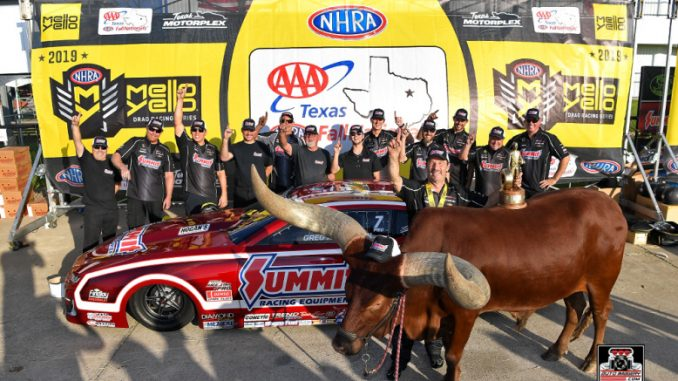 Greg Anderson NHRA Pro Stock Texas