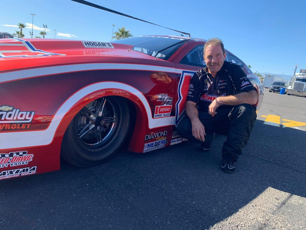 Our very own Greg Anderson and his Summit Racing Equipment KB Racing Chevrolet C...