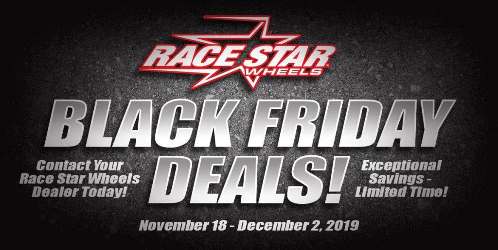 Our best deals all year are happening NOW! Contact your local Race Star Wheels d...