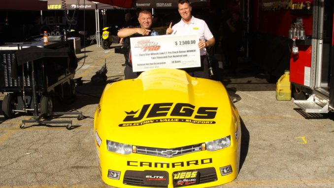 Congratulations to Jeg Coughlin Jr. for winning the last Race Star Wheels Low E....