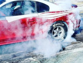 @coltonkryzer31 lighting up the slicks on his #racestarequipped Mustang! #racest...