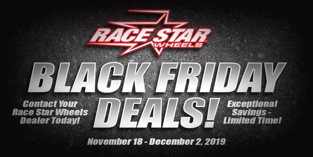 Our Black Friday Deals are happening now! Head over to www.racestarindustries.co...