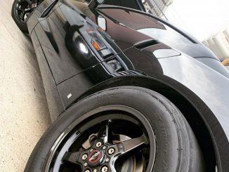 One NASTY #racestarequipped C6 Vette! Owner: @6oh_satan #racestarwheels #c6corve...