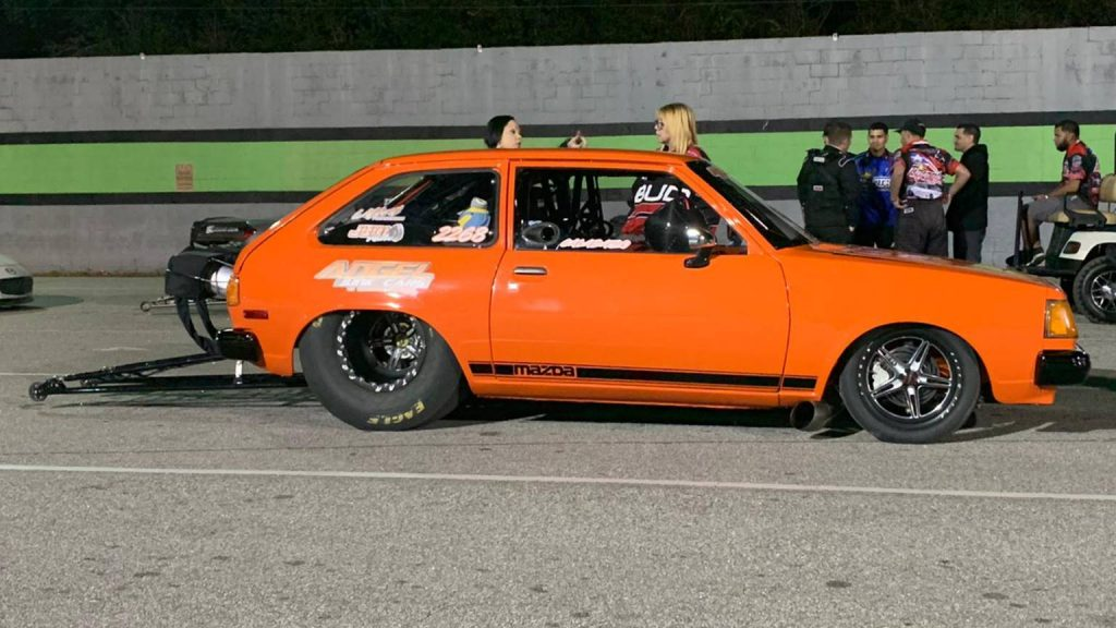 Check this out! 1980 Mazda GLC, aka LA Calabaza (The Pumpkin), Owner: Alberto Sa...
