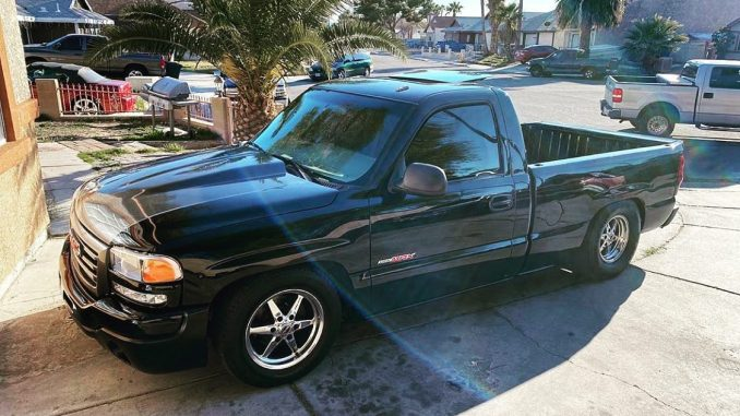 For today's #truckintuesday post we chose this wicked #racestarequipped GMC Sier...
