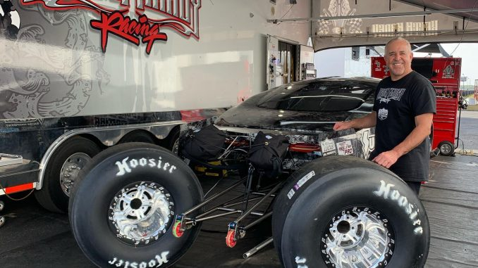 We caught up with @khaneyracing for a minute here at the NMCA Muscle Car Nationa...