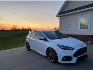 Our new Focus RS wheels are on point!! ⁣  ⁣  Owner: @_skreets_rs ⁣  ⁣  #racestar...