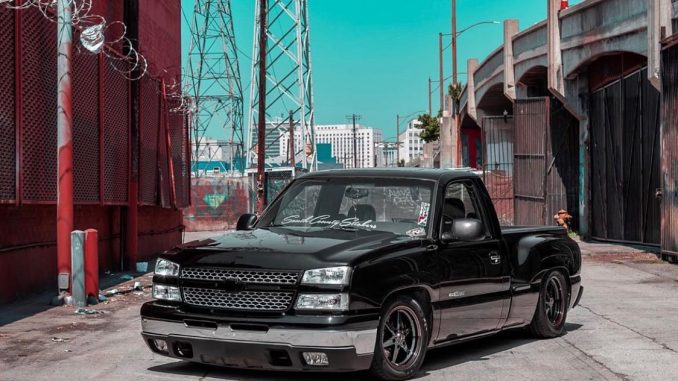 We love this Silverado! It's sitting just right on a set of Race Star Truck Star...