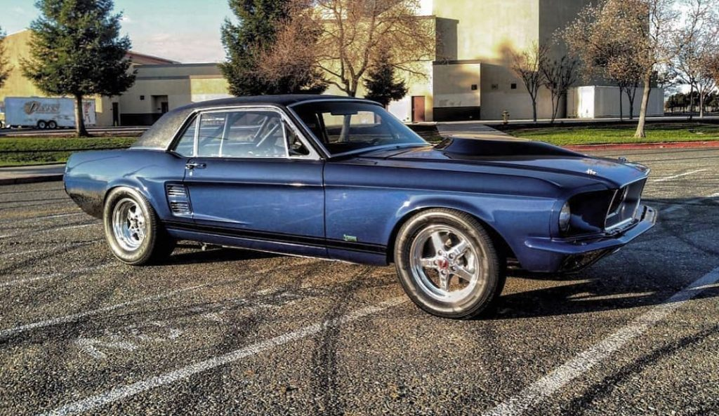 This '67 Mustang looks amazing on Race Stars!!  #racestarwheels #racestarequippe...