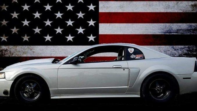 America!!   Owner/: Shawn Field  #racestarwheels #racestarequipped #mustang #m...