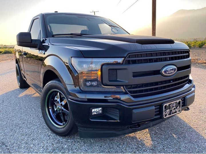 Love the black on black look of this F150! It's perfect for #trucktuesday! ...
