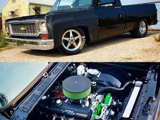 This big block C10 is a BEAST! And those wheels aren't bad either!   #racestarsw...