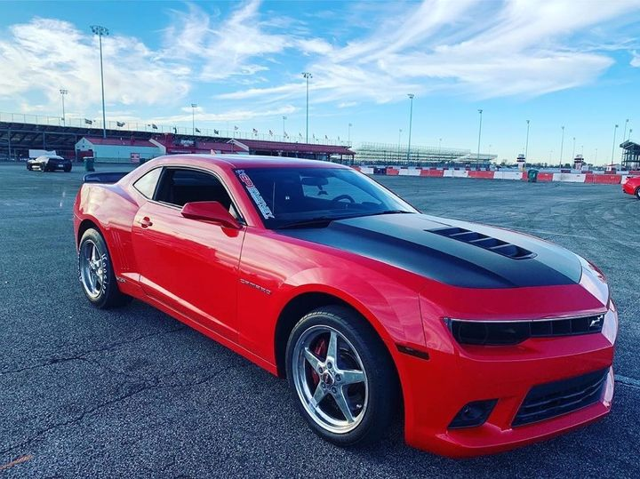 2014 Camaro SS owned by @arcamaro5 and rolling on Race Stars!!   #racestarswhe...