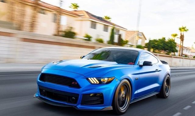 Sweet rolling shot from @jesse_5ohh for this Mustang Monday!   #racestarwheels...